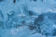 Pedaços do gelo Fotos de Stock Royalty Free