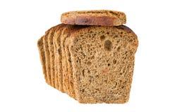 Pedaços do pão com raisin Imagem de Stock Royalty Free