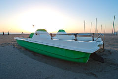 Pedal boat Royalty Free Stock Photo