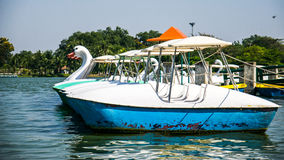 Pedal boat. Stock Image