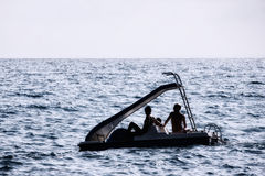 Pedal boat Stock Image