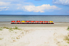 Pedal boats Royalty Free Stock Image