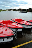 Pedal Boats Royalty Free Stock Images