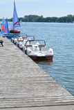 Pedal boats Royalty Free Stock Photo