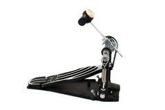 Pedal del pie del tambor Foto de archivo