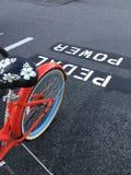 Pedal- makt Fotografering för Bildbyråer