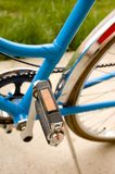 Pedal and middle part of a bicycle Stock Photo