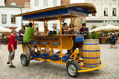 pedal- pub Arkivfoton