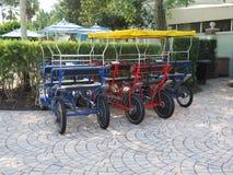 Pedal surreys Royalty Free Stock Photo