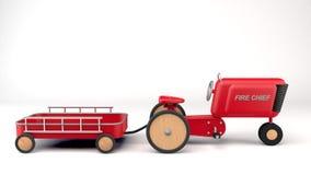 Pedal-Traktor Lizenzfreies Stockfoto