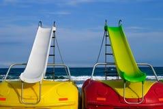 Pedalboote Stockbild