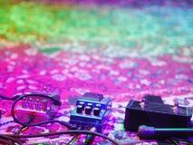 Pedale di musical wah-wah Fotografie Stock Libere da Diritti