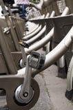 Pedale locativo della bicicletta Immagine Stock Libera da Diritti