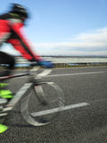 Pedaling Stock Photography