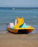 Pedalo With Slide Stock Image