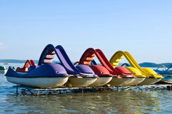 Pedalos Royalty Free Stock Images