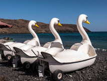 Beach Pedalos Holiday Fun Royalty Free Stock Image