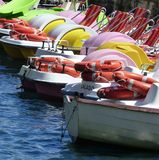 Pedalos Stock Photography