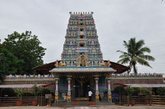 Pedamma tempel i Hyderabad Royaltyfria Foton