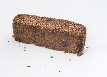 Pedaço grande do pão de centeio Fotografia de Stock Royalty Free