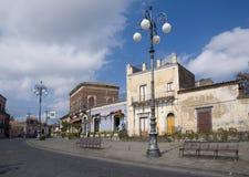 Pedara, Sizilien, Italien stockfotos