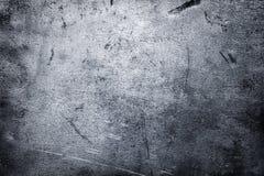 Pedazo arrugado de fondo del hierro, textura cepillada del metal foto de archivo