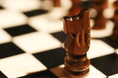 Pedazo de ajedrez Foto de archivo libre de regalías
