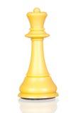 Pedazo de ajedrez blanco de la reina fotos de archivo libres de regalías