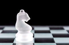 Pedazo de ajedrez del caballero Fotografía de archivo libre de regalías