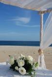 Pedazo de centro de la flor de la boda Foto de archivo