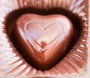 Pedazo de chocolate Foto de archivo