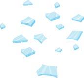 Pedazo de cristal Fotografía de archivo libre de regalías
