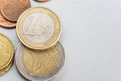 Pedazo de dinero Fotos de archivo libres de regalías