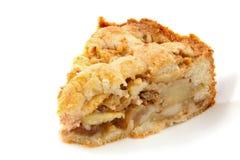 Pedazo de empanada de manzana Imagenes de archivo