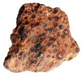 Pedazo de la bauxita por separado Fotos de archivo