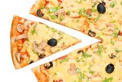 Pedazo de la pizza Fotografía de archivo libre de regalías