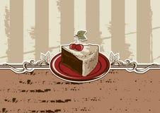 Pedazo de la torta libre illustration