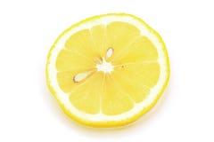 Pedazo de limón Foto de archivo libre de regalías