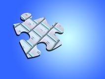 Pedazo de los rompecabezas Imagen de archivo libre de regalías