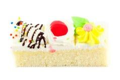 Pedazo de mini torta Fotografía de archivo libre de regalías