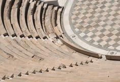 Pedazo de Odeon en Atenas Fotografía de archivo libre de regalías