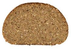 Pedazo de pan aislado en blanco Fotografía de archivo libre de regalías