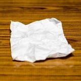 Pedazo de papel Fotografía de archivo
