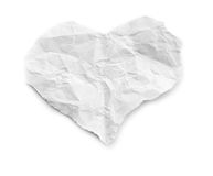 Pedazo de papel rasgado Imagenes de archivo