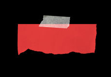 Pedazo de papel rasgado Fotografía de archivo libre de regalías