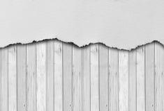 Pedazo de papel rasgado Fotografía de archivo
