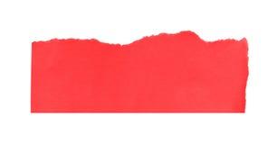 Pedazo de papel rasgado Imagen de archivo