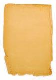 Pedazo de papel viejo Imágenes de archivo libres de regalías