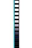 Pedazo de película del movimiento de 35 milímetros Fotos de archivo