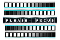 Pedazo de película del movimiento de 35 milímetros Imagen de archivo